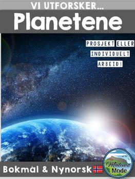 Utforsk planetene i solsystemet vrt med dette opplegget. Merkur, Venus, Jorden, Jupiter, Saturn, Uranus og Neptun er alle med i pakken!Formlet med Vi utforsker-serien er at du som lrer skal kunne tilby elevene et rammeverk for utforske et emne nrmere. $4.00