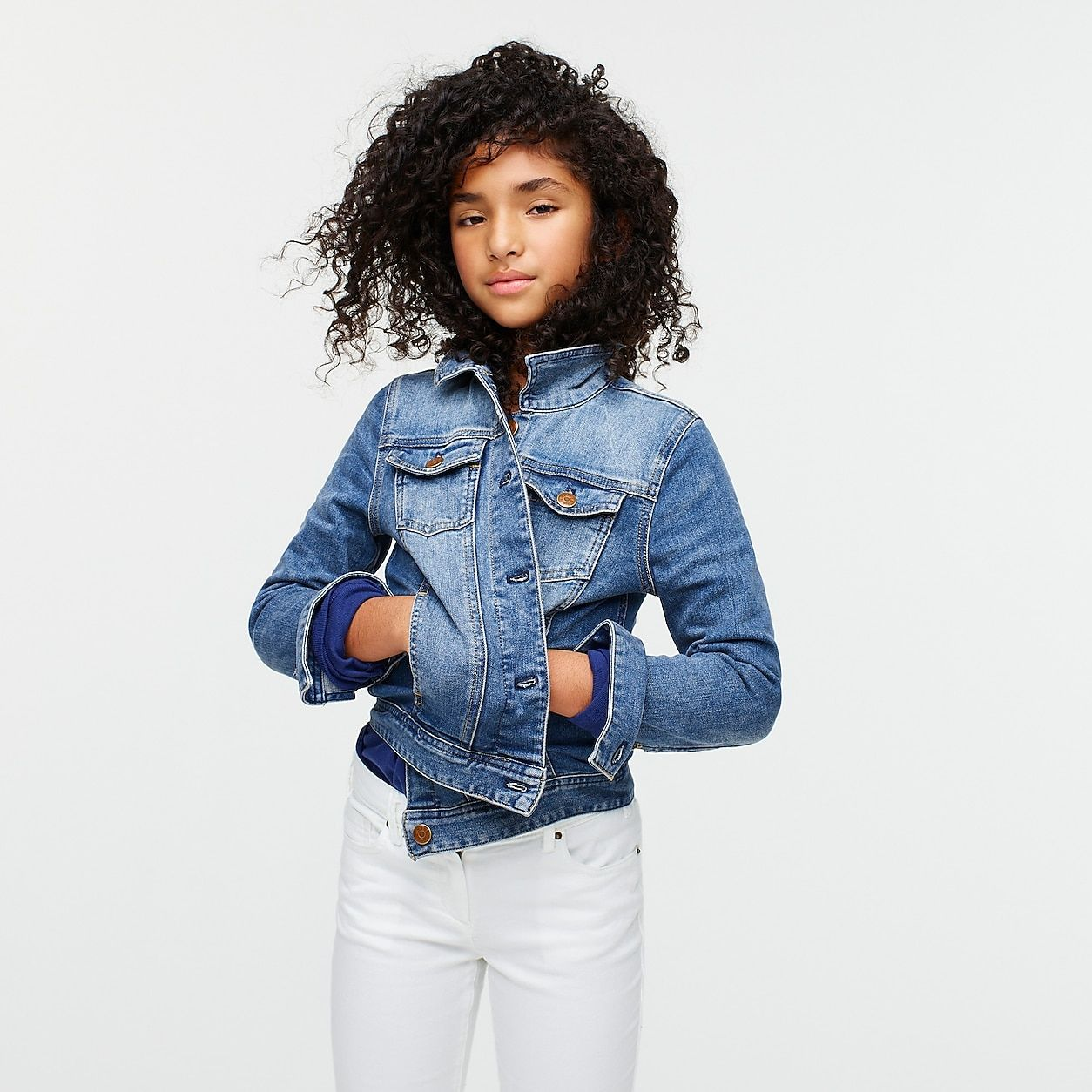 Crewcuts Stretch Denim Jacket In 2021 Jean Jacket For Girls Denim Jacket Boys Jean Jacket [ 1254 x 1254 Pixel ]