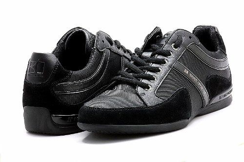 4d840a4e84e Orange By Hugo Boss Men's Shoes Seattor Black Fashion Sneakers | I ...