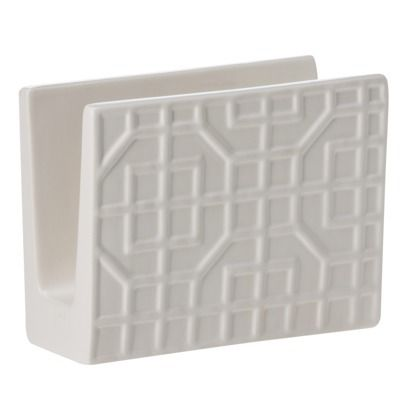Threshold™ Ceramic Napkin Holder White Target in store