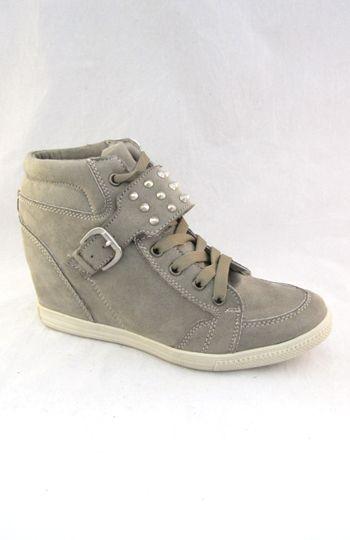 6ca9c2767 VANGUARDISTA ZAPATO TIPO TENIS CON TACON. | Shoes | Zapatos, Tacones ...