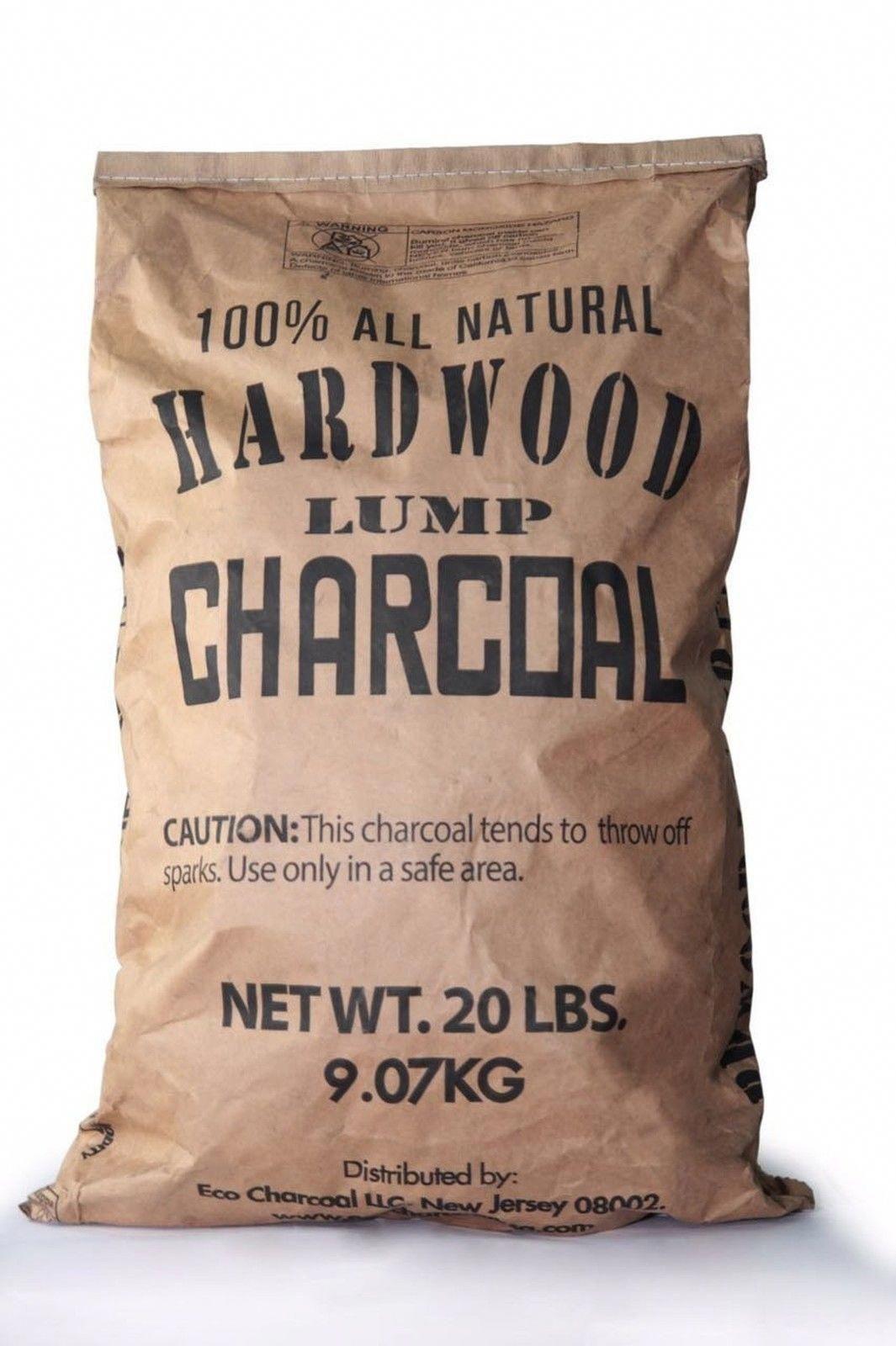 Eco Charcoal 20-Pound All Natural Premium Hardwood Lump Charcoal Bag | eBay #Fitness