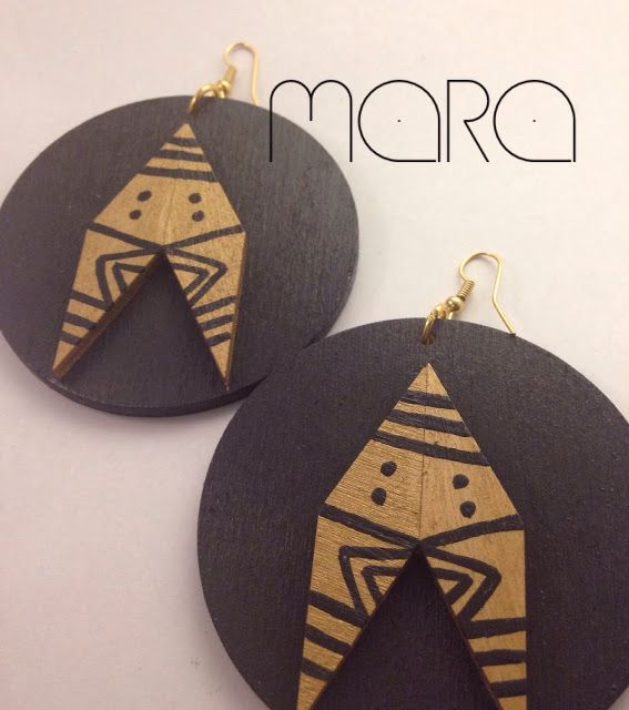 Émeraude Chic New Arrivals earrings, African Jewelry