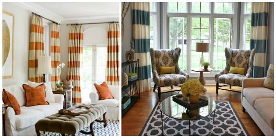 silk versatile fallow beach curtains pleat bold curtain stripe silver faux color