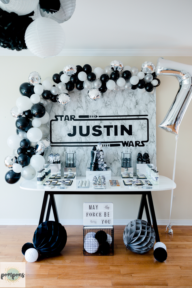 Star Wars Birthday Party Ideas  Photo 5 of 5  Star wars theme
