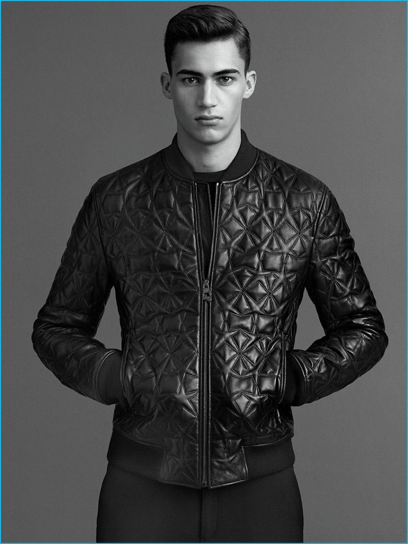 Versace Reinforces Refined Season with Sharp Tailoring   Men - Coats ... 37e7f08cfa9
