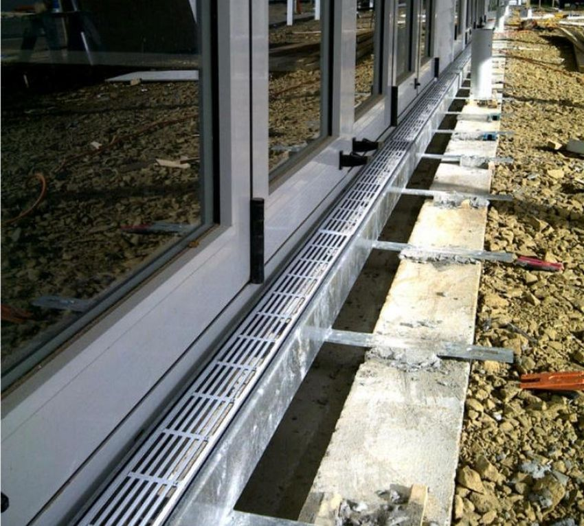 Image Result For Drainage Channel For Level Threshold Drainage Channel,  Drainage Ideas, Raised Patio