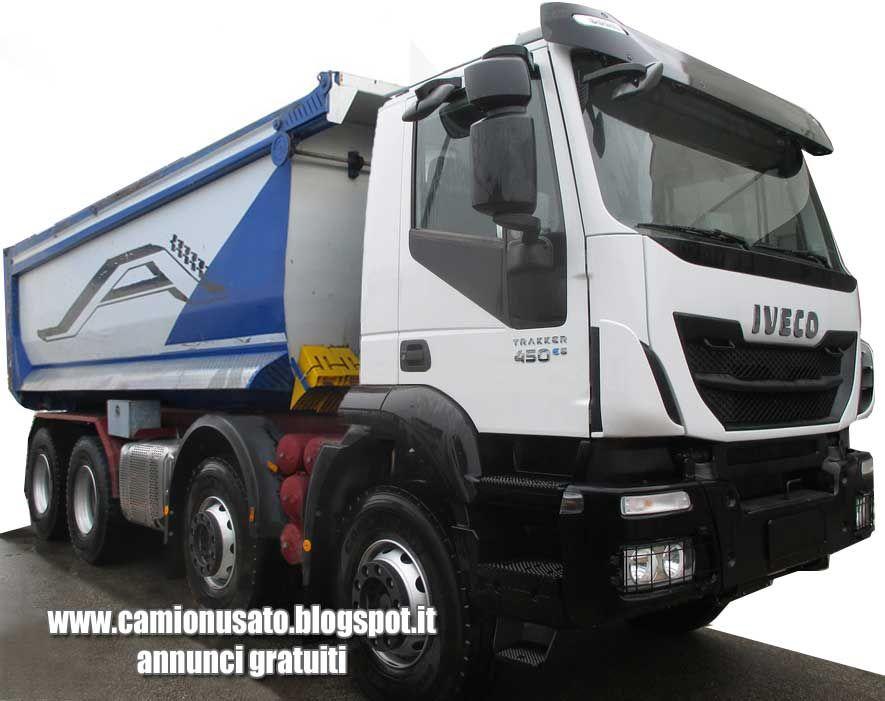 Camion Usati E Mezzi Industriali Iveco Trakker Ad410t44h 8x4 Equipped With Andreoli Tipper 22 Cbm Rock Body Rear Genere