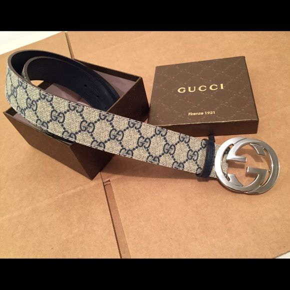 Gucci Belt Beige  efcece32db9
