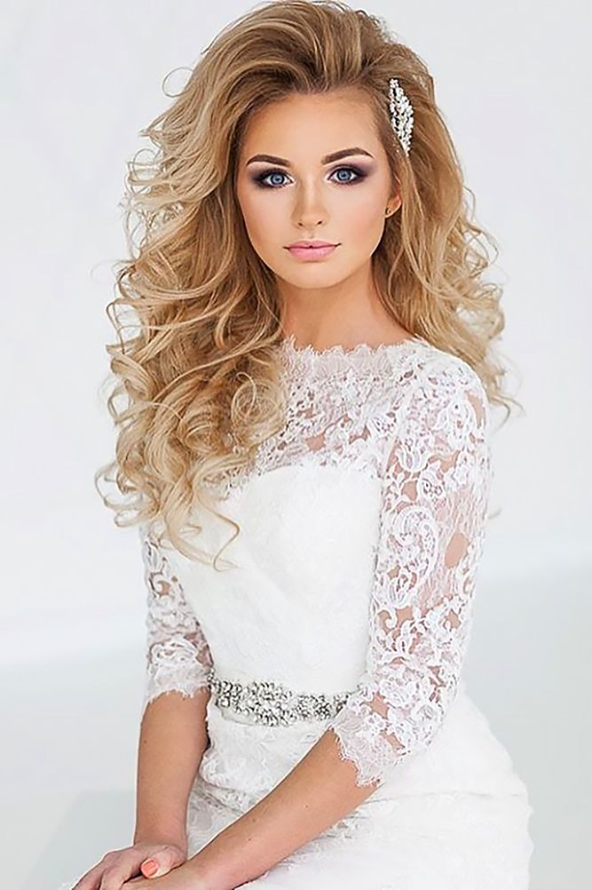 33 Oh So Perfect Curly Wedding Hairstyles   Hairstyles for ...