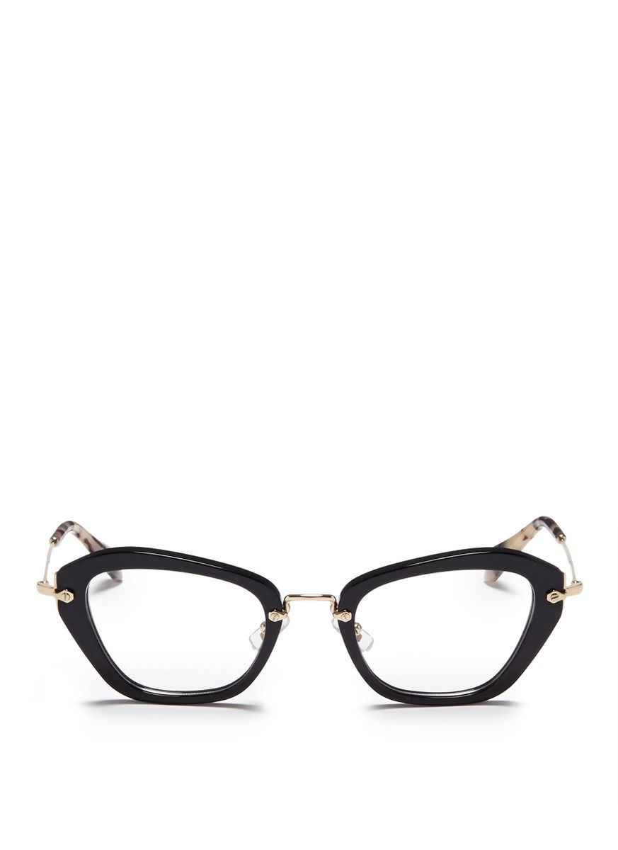 noir tortoiseshell tip optical glasses
