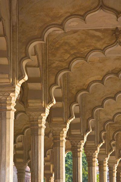 Agra-Taj Mahal, India (Walter Bibikow)