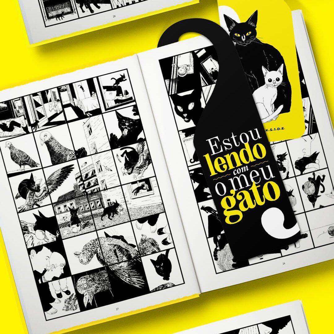 Em Vida De Gato Baeken Convida O Leitor A Conhecer O Mundo Visto