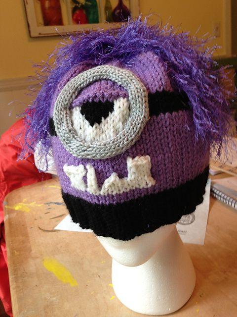 10 Free Knitted Minion Patterns | hats | Pinterest
