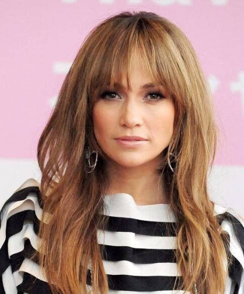45 superb long hair with bangs recommendations | frisuren