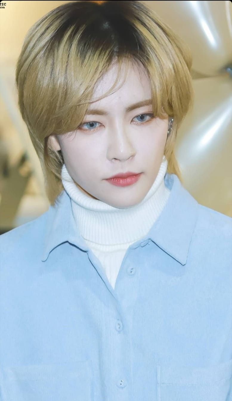 Kpop Blonde Mullet Mullet Hairstyle Asian Mullet Mullets