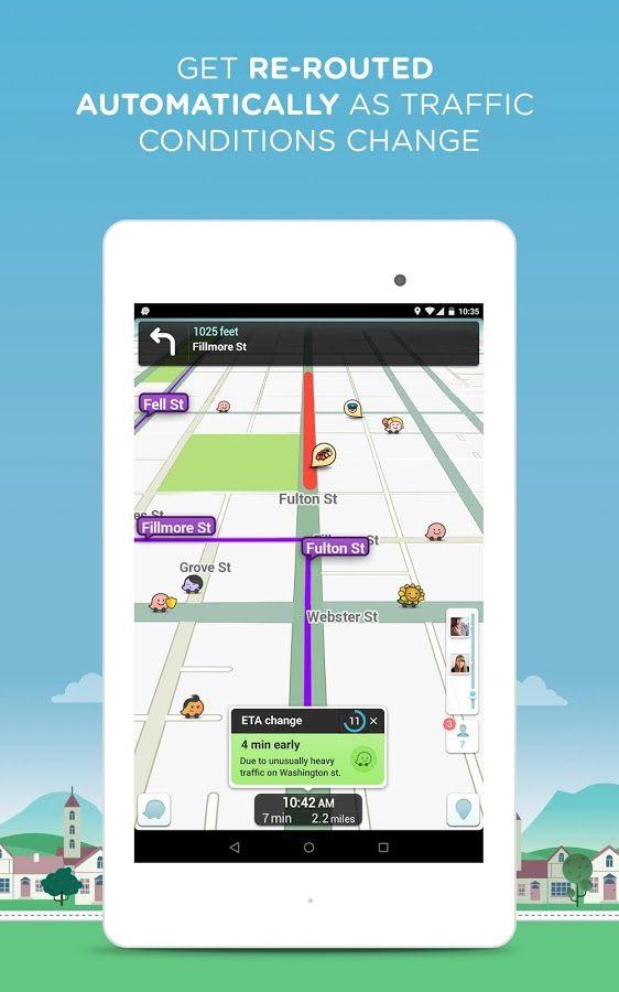 Waze Social GPS Maps & Traffic - screenshot | Biz - Tools I use that