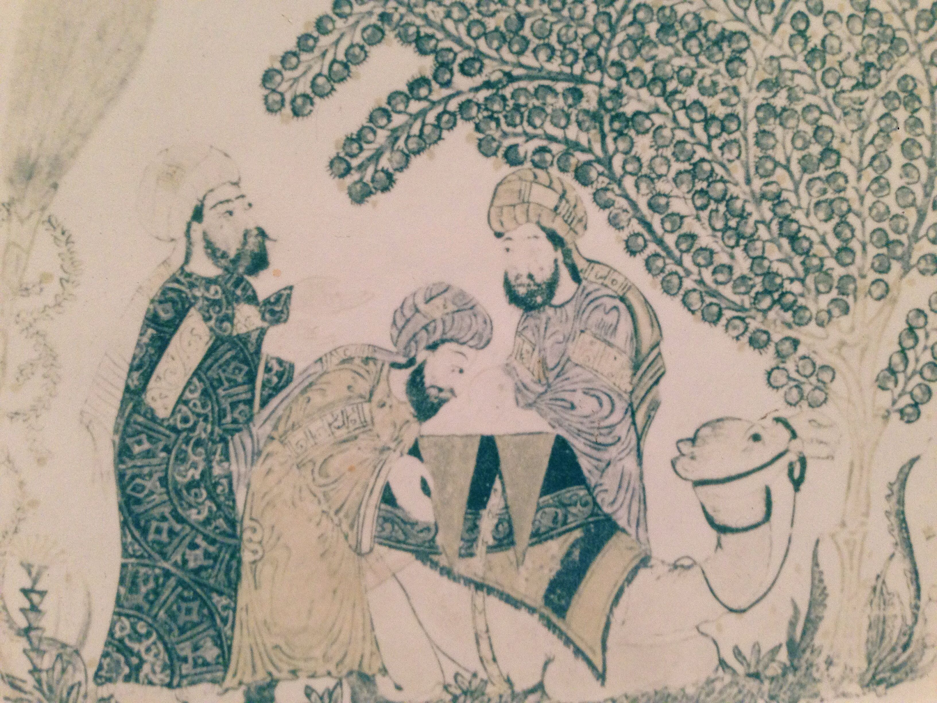 Peintures - Persans - camel