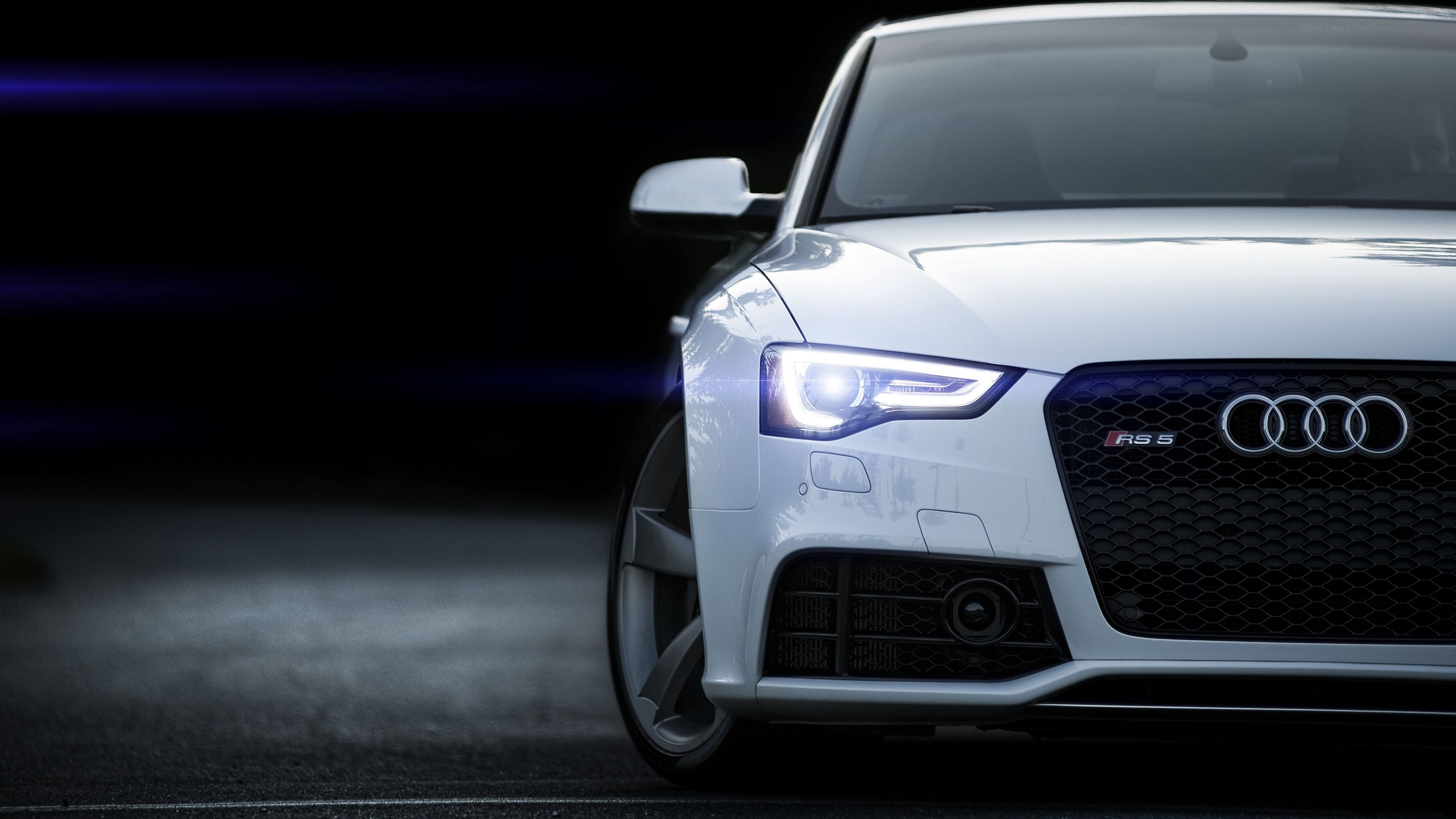 Rs5 Audi White Front View 4k White Rs5 Audi Car Wallpapers Audi Audi Wallpapers