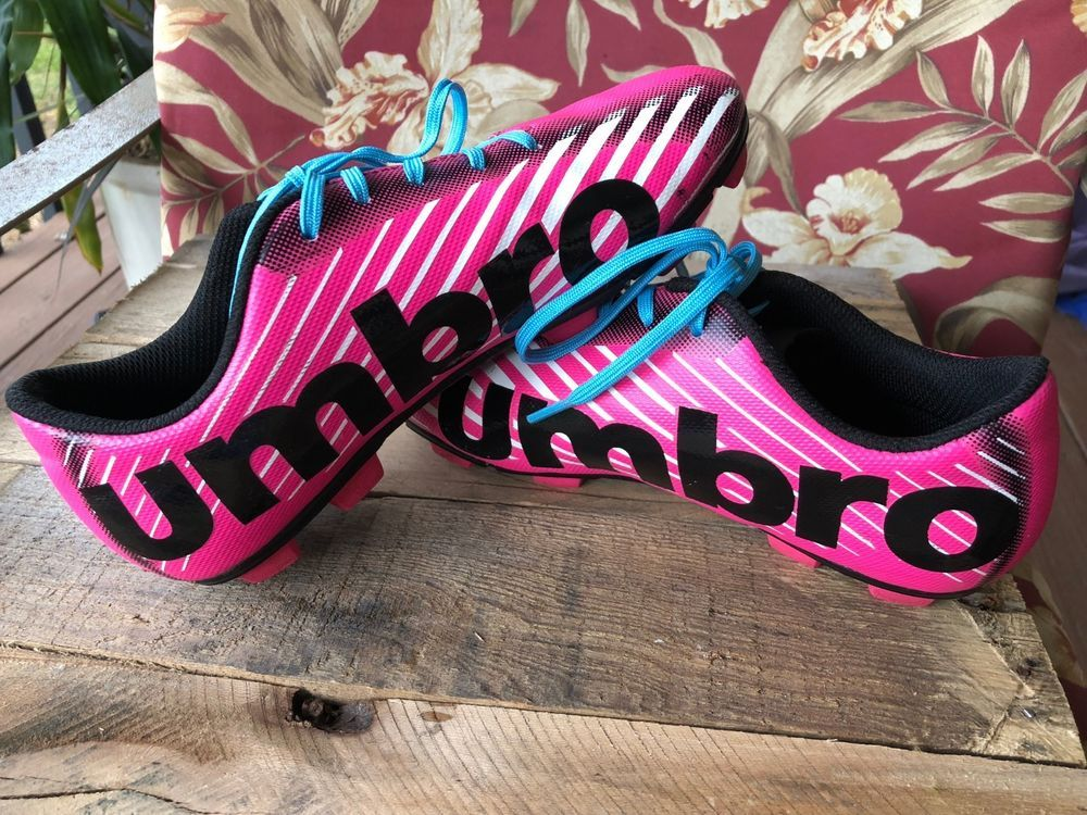 46b39d2aecfa UMBRO Girl's Arturo 2.0 Pink Black Soccer Cleats Shoes Size 4 Sports #Umbro