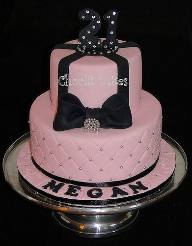Marvelous Megans 21St Birthday Cake 21St Birthday Cake For Girls Classy Personalised Birthday Cards Veneteletsinfo