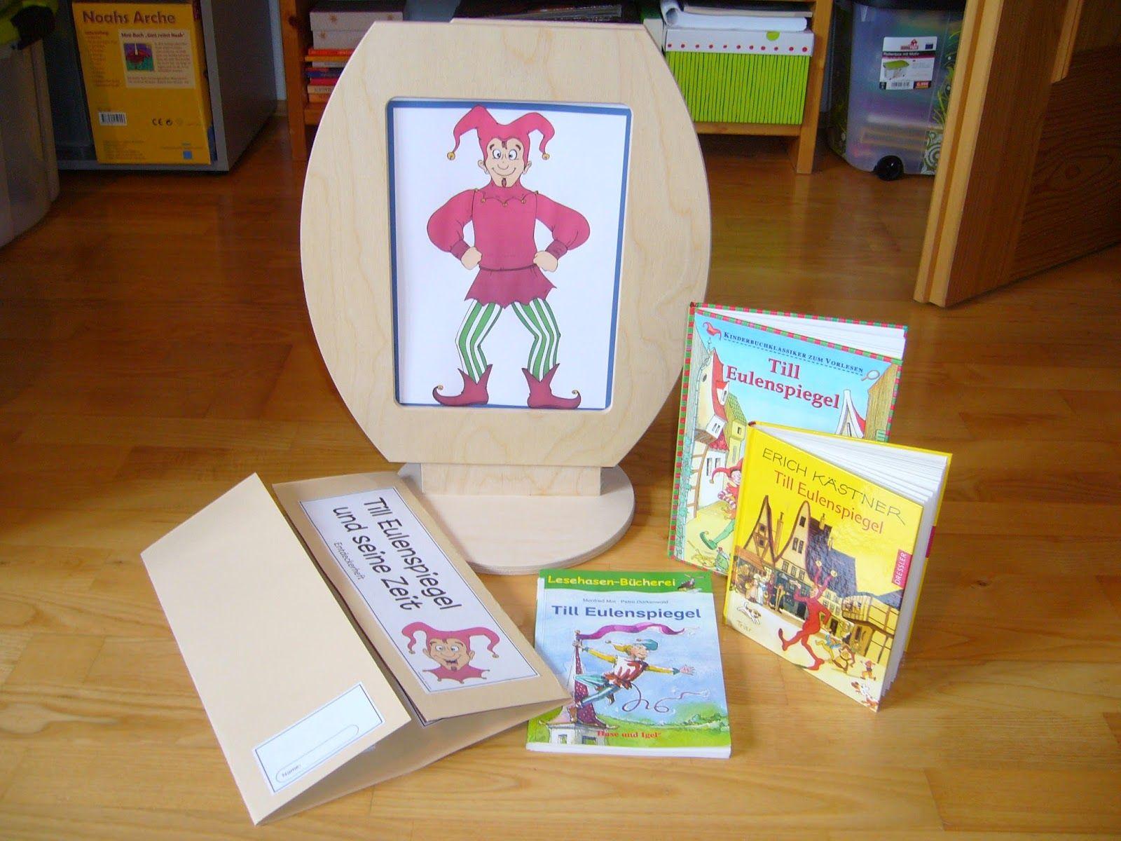 Lapbooks in der Grundschule: Till Eulenspiegel Lapbook | HSU | Pinterest