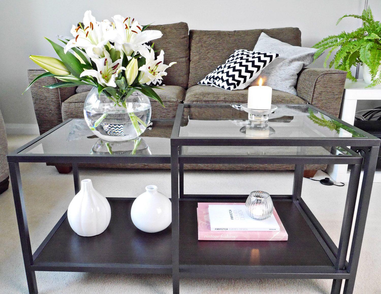 Coffee Table Styling Coffee Table Ikea Coffee Table Glass Coffee Table Decor [ 1159 x 1500 Pixel ]
