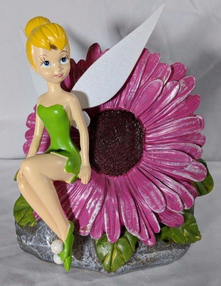 Disney Statue 8 Tinkerbell Fairy Solar
