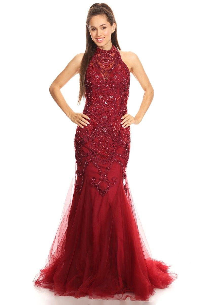 8e1ddaa6906e0 Sabrina Dresses > Evening Gowns > #SA-017- − LAShowroom.com | Prom ...