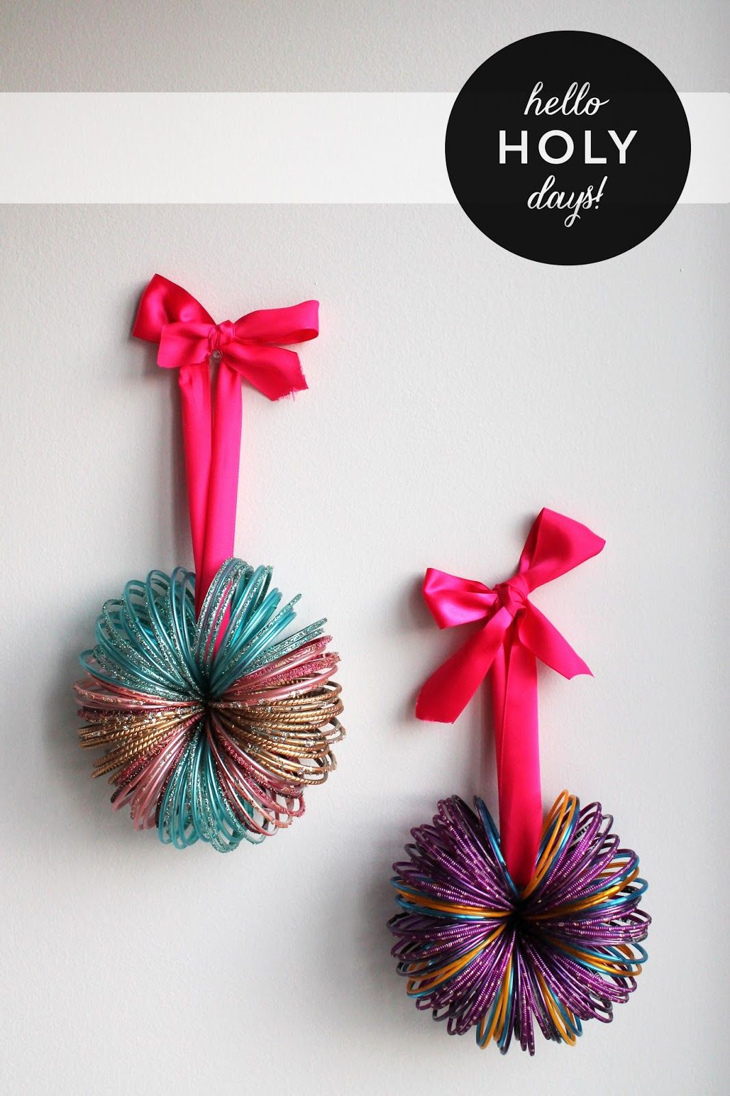 Ramadan Decor Bangles Trinket Mini Wreath Make Diffe Sizes And Hang Them On A Wall Staggered