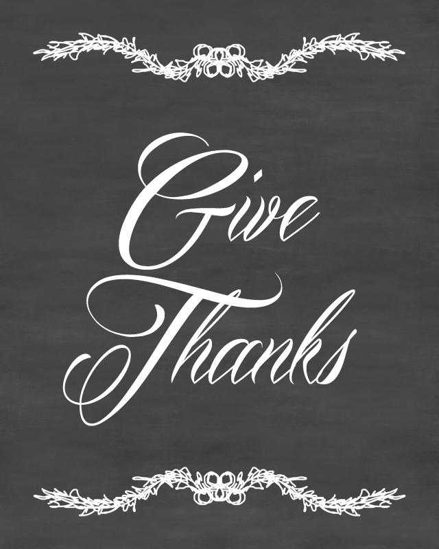 thanksgiving chalkboard printable decor pinterest thanksgiving