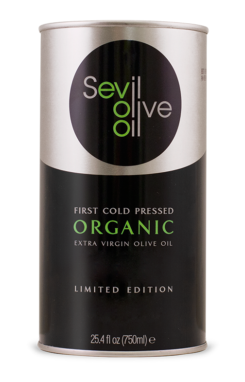 Our 750ml, Organic, First Cold Pressed, Extra Virgin Olive