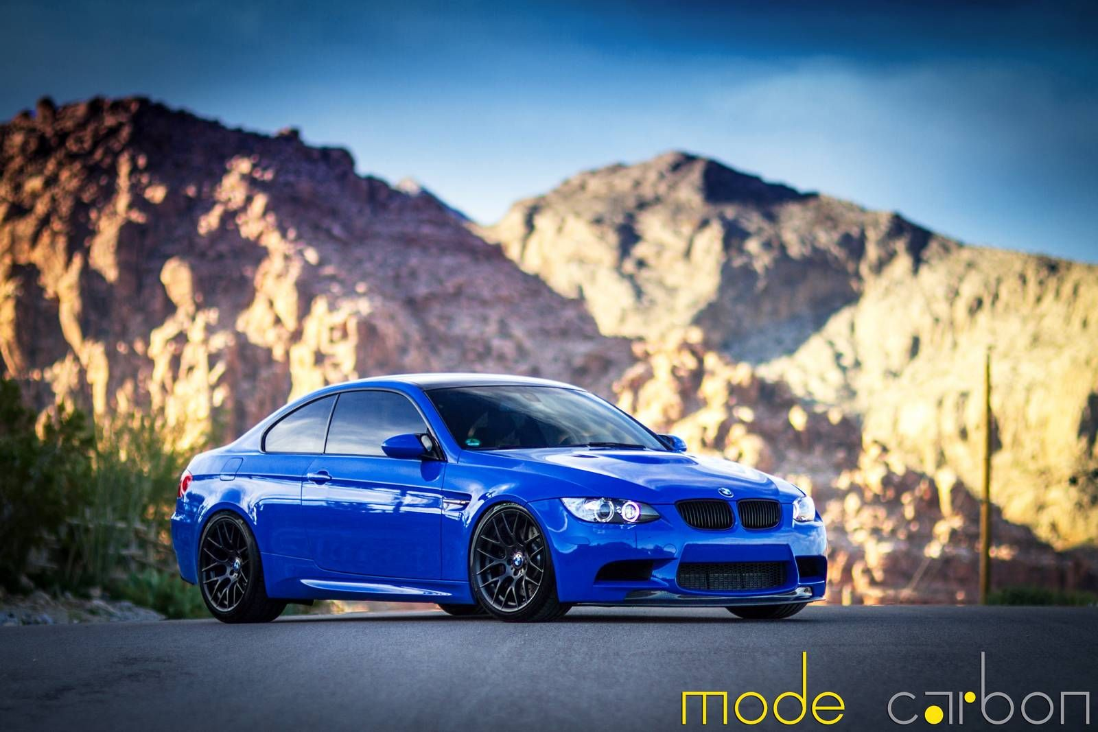 Santorini Blue Bmw E92 M3 By Mode Carbon Bmw M3 Bmw Bmw 4 Series