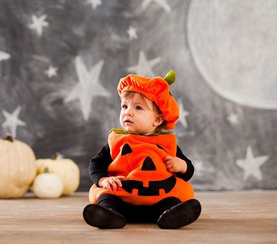 Baby Pumpkin Costume Pottery Barn Kids Disfraces Halloween Bebes Disfraz Bebe Disfraces De Halloween Para Bebés