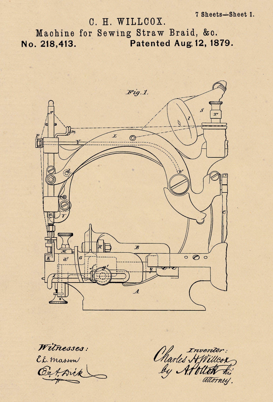 Smoking Poster Cigar Vending Machine Patent Art Print 1
