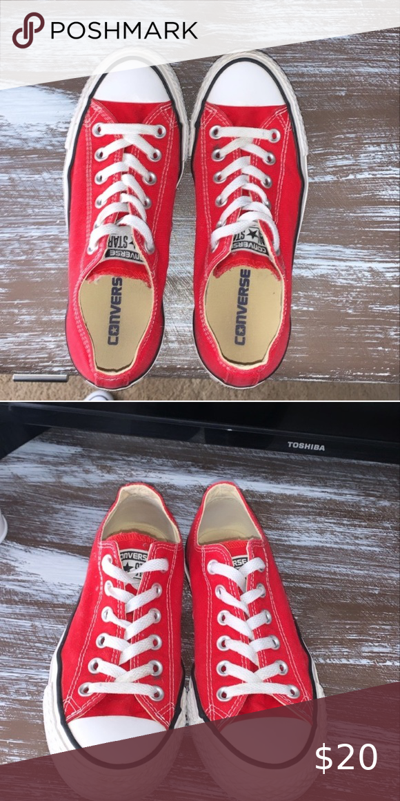 red converse size 6.5