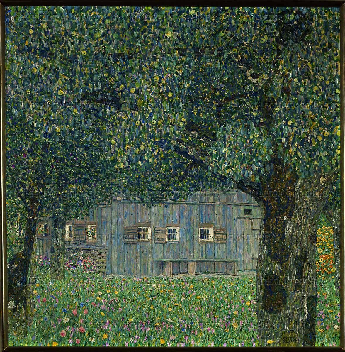 Daybook Landscape Gustav Klimt Klimt Art Gustav Klimt Klimt Paintings