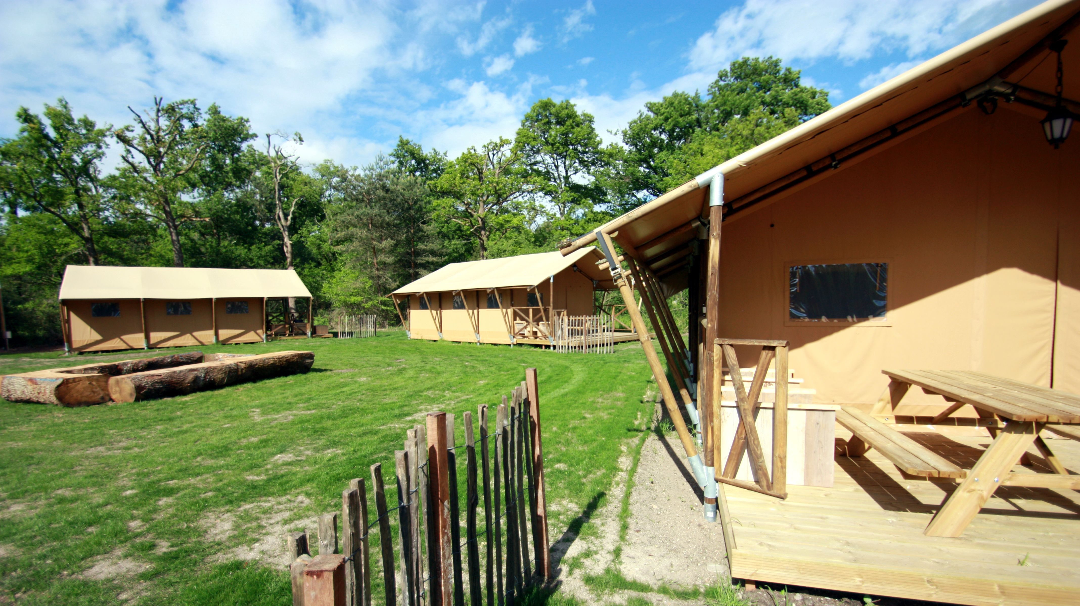 You ll find our Safari Tent Deluxe in the Forest Camp at Les