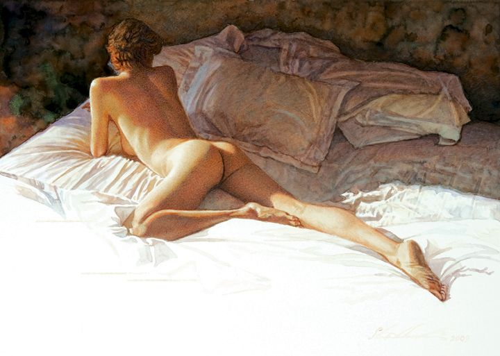 Steve Hanks At the Edge of Shadow and Light
