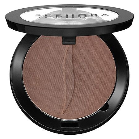 "Sephora Collection Colorful Eyeshadow Matte in ""Coffee Break,"" a ""milk chocolate matte"""