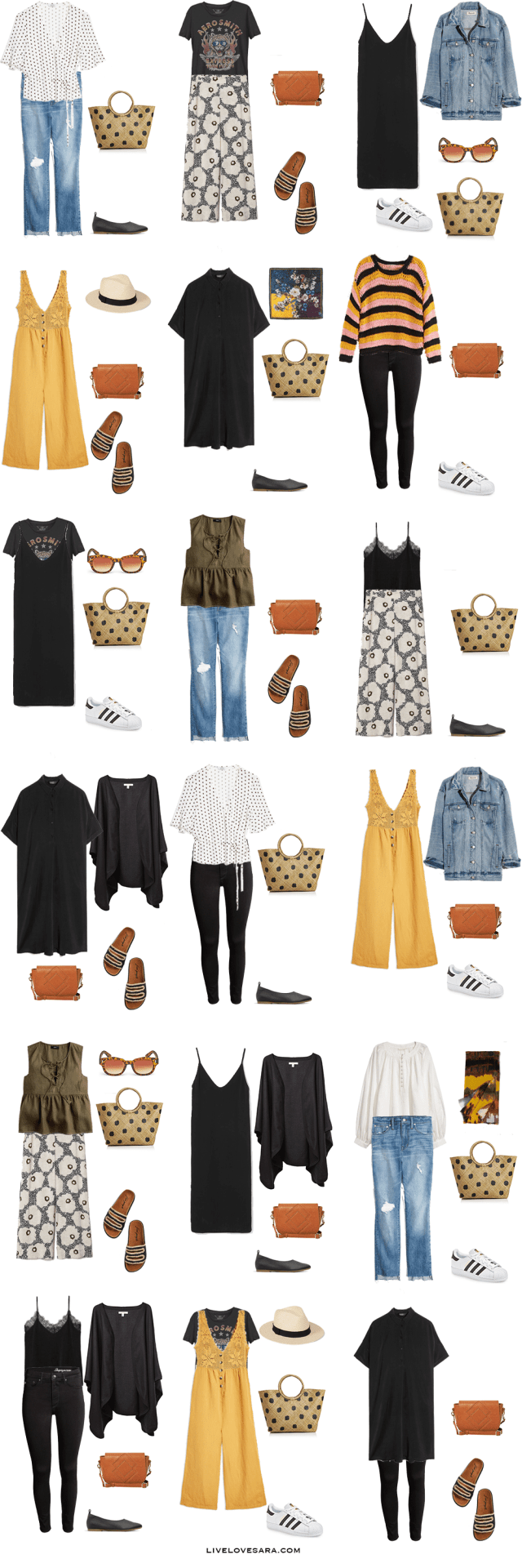 What to Pack for New York City - Packing Light - livelovesara #travelwardrobesummer