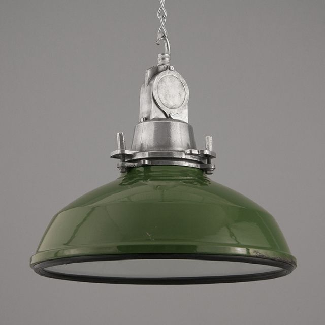 green enamel factory light by thorlux & green enamel factory light by thorlux | Lamps | Pinterest ... azcodes.com