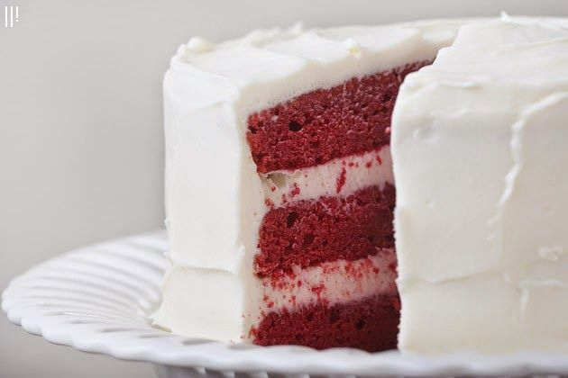 All Natural Red Velvet Cake Pairs Perfectly With Champagne And Late