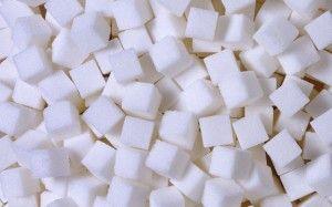 white, food, sugar, cubes