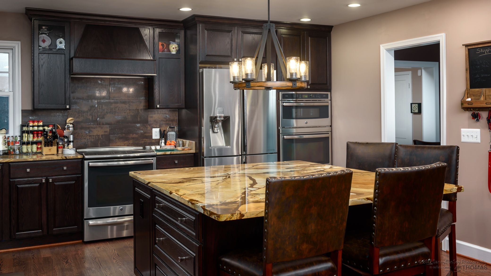 Stone Name Roma Imperiale Quartzite Project Date 2018 Project Type Kitchen Builder Thomas Custom Builde Granite Countertops Countertops Kitchen Builder