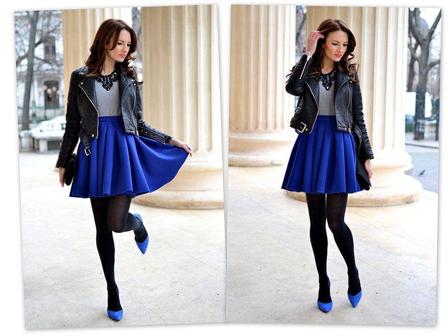 Kobieca Spodnica Kontrafaldy Rozkloszowana P888 4790850013 Oficjalne Archiwum Allegro Fashion Style Skirts