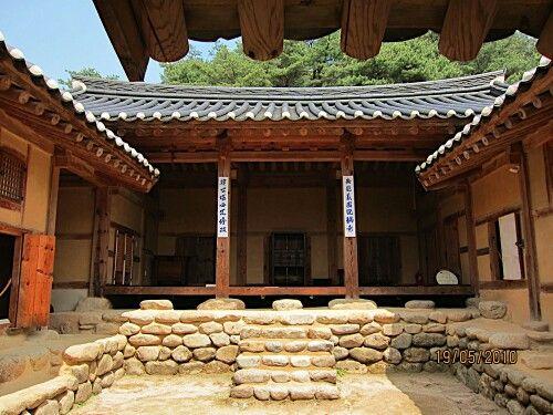 Hanok korean old house south korea jee 39 s heritage in - Mansions in south korea ...