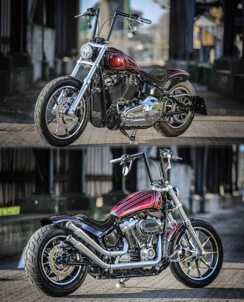 thunderbike iron butterfly customized harley davidson. Black Bedroom Furniture Sets. Home Design Ideas