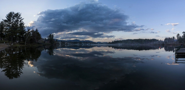 A walk around Mirror Lake | Lake Placid, Adirondacks, fun to do in any season!