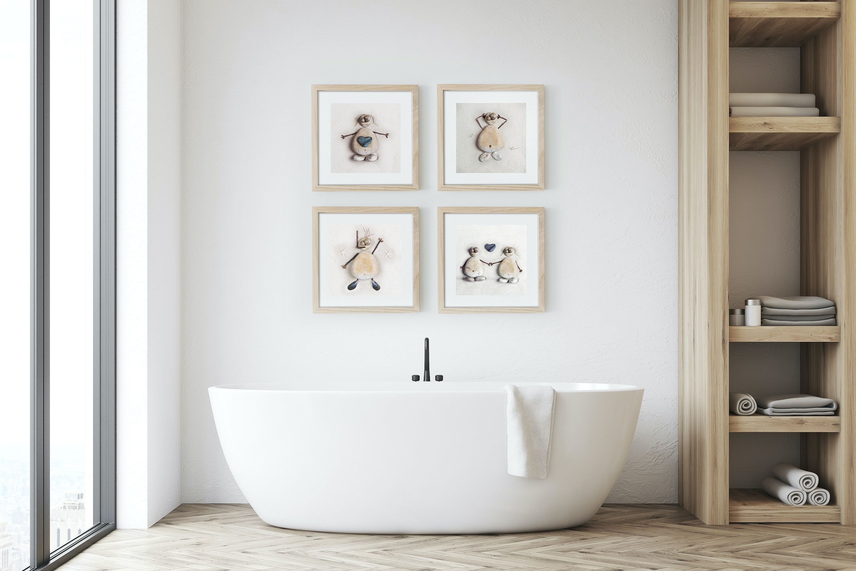 Pin On Bathroom Art